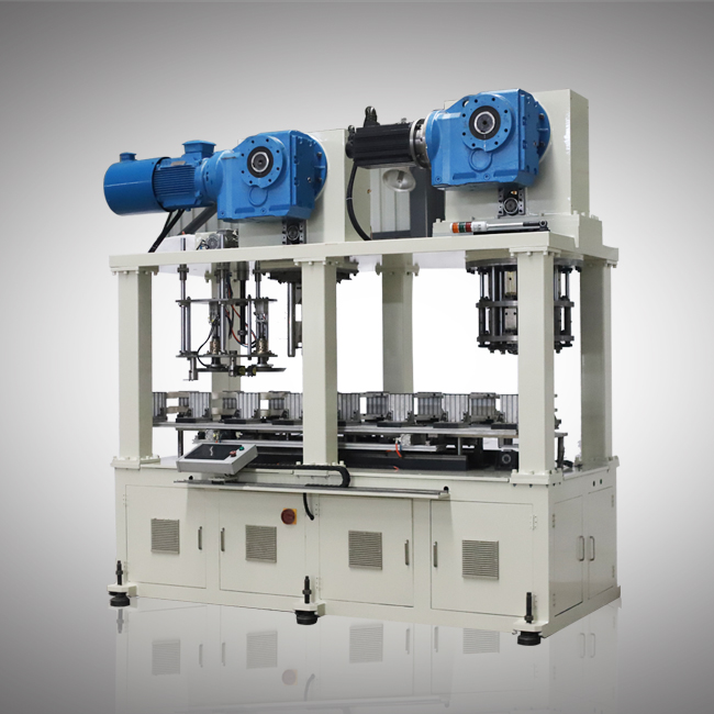Full automatic can body combination machine for big square can
