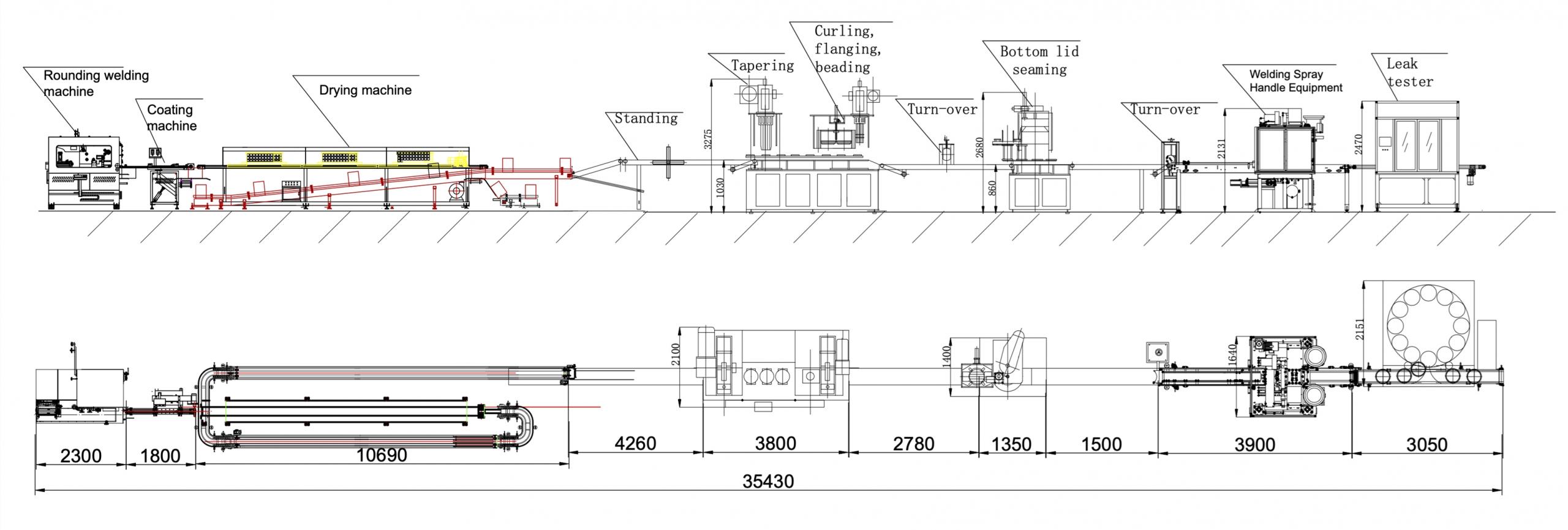 Automatic Conical Pail Production Line-1
